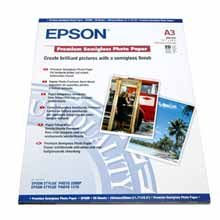 Epson S041334 Premium Semigloss Photo Paper