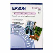 Epson S041352 Watercolour Radiant White Paper