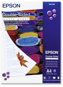 Epson S041569 Double Sided Matte Paper