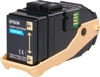 Epson S050605 Cyan Toner Cartridge (7.5k)