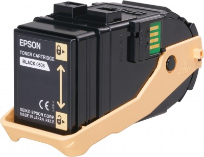 Epson S050605 Black Toner Cartridge (6.5k)
