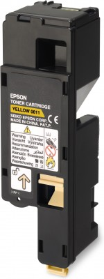 Epson S050611 High Capacity Yellow Toner (1.4k)