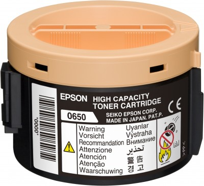 Epson S050650 High Capacity Black Toner (2.2k)