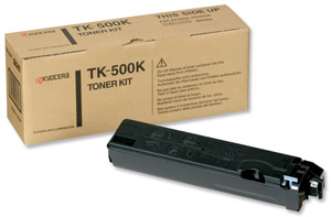 Kyocera TK500K Mono Toner Cartridge
