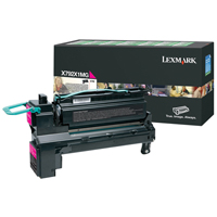 Lexmark X792X1MG Magenta Extra High Yield Return Programme Toner