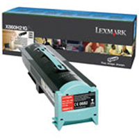 Lexmark X860H21G Black High Capacity Toner (35k)